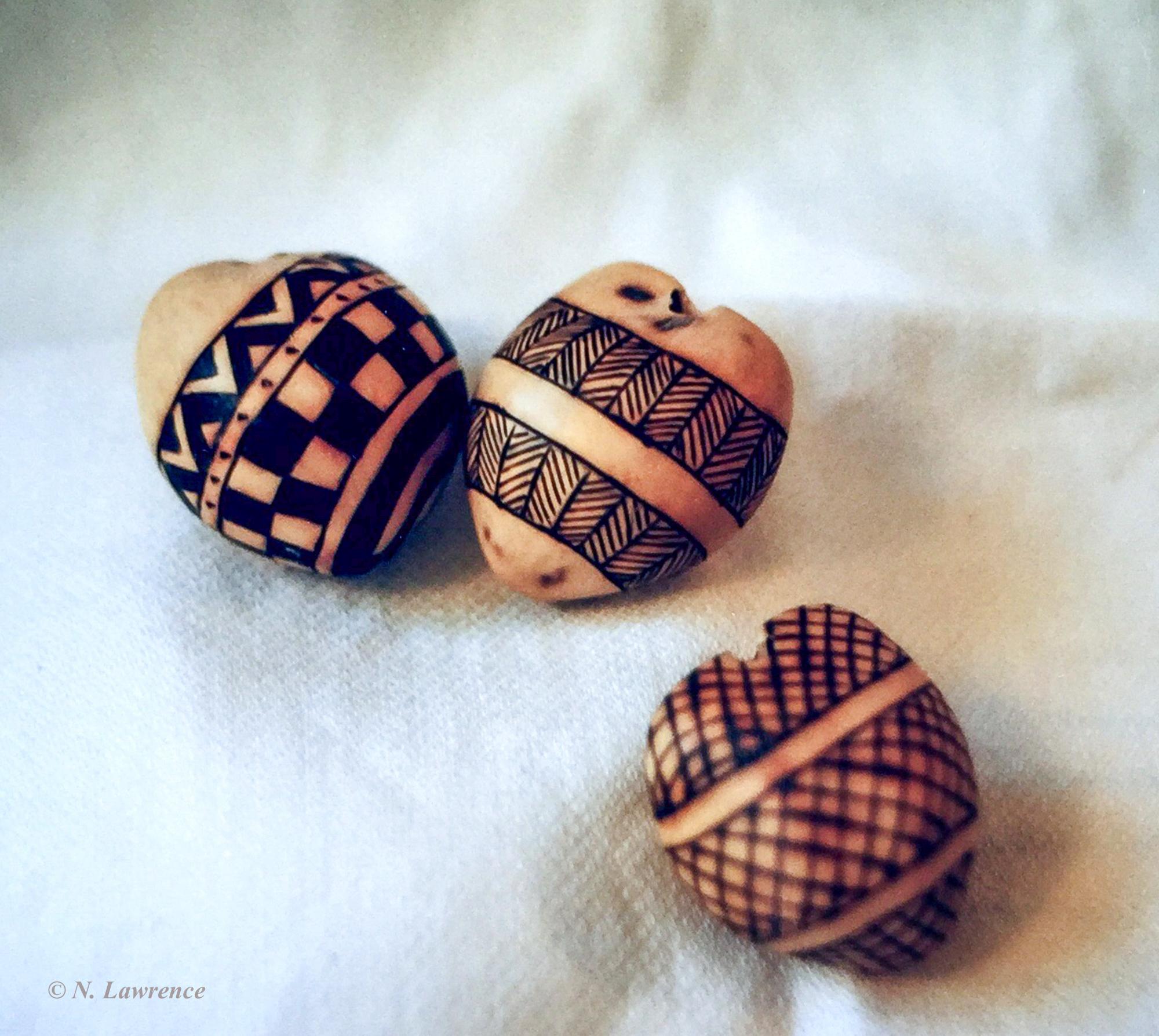 3 Various Kukui Nut Designs.b