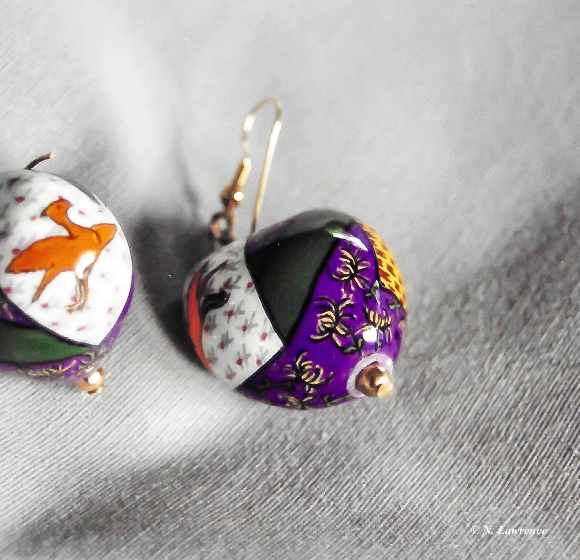 Japanese Earrings 1 - back