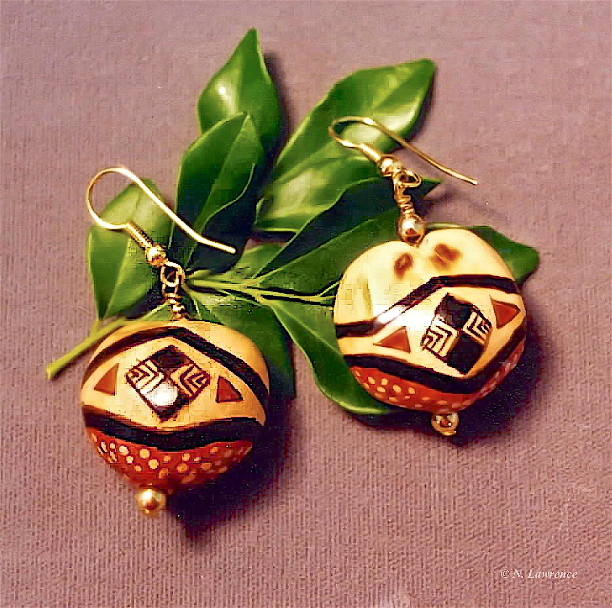 Kukui Earrings 1