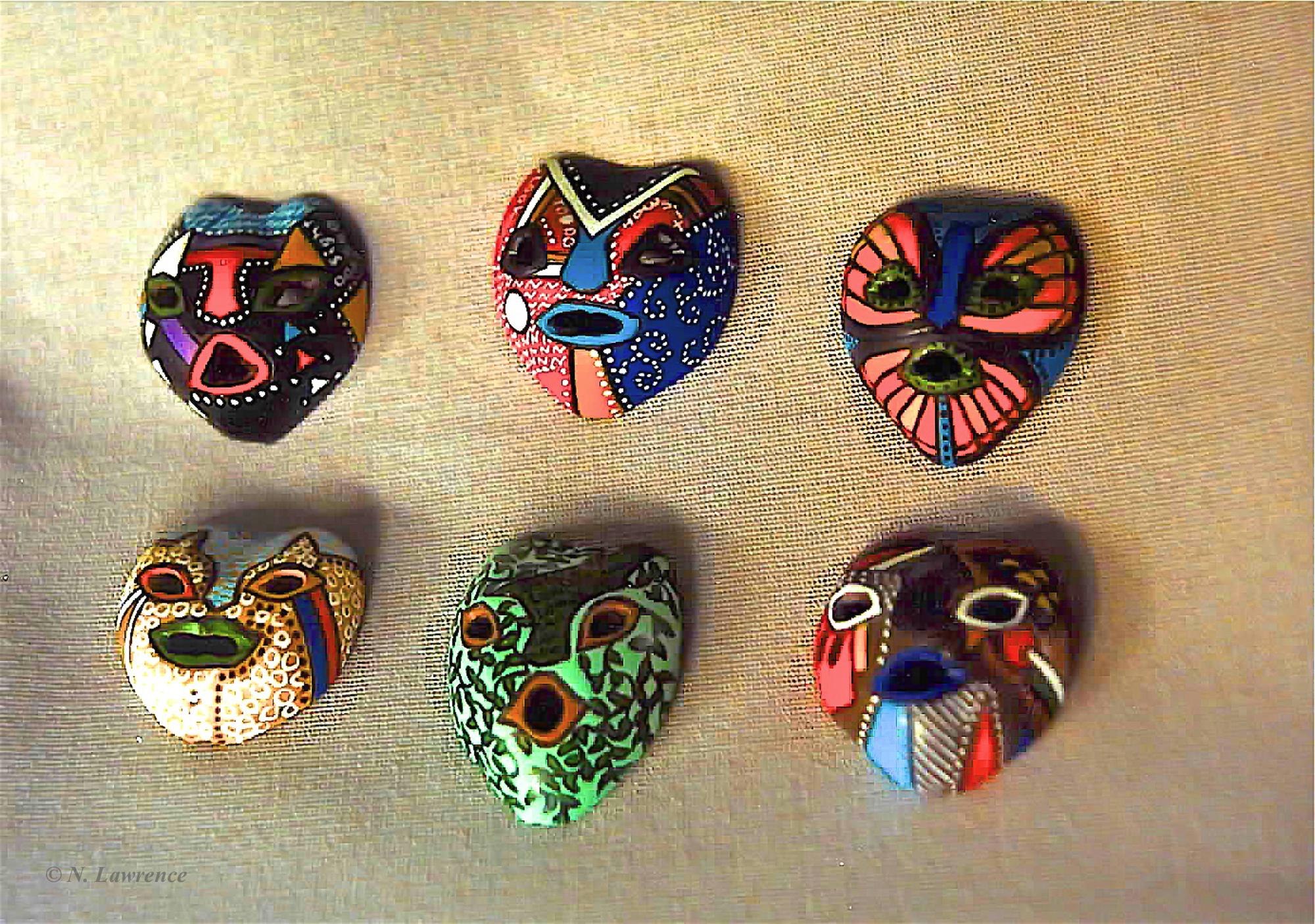 Kukui Masks 2