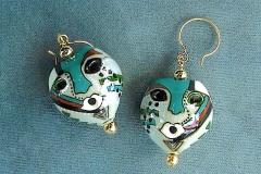 Kukui Mask Earrings 1