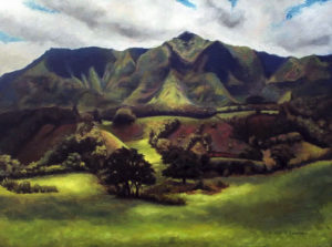 Green Mountains of Kauai